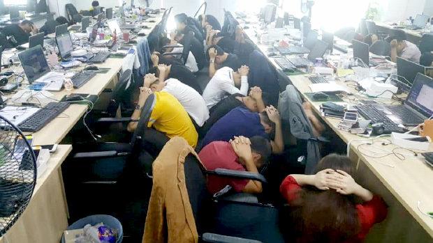 マレーシア、中国人オンライン詐欺組織680人を一斉逮捕!100人近くが逃走-2