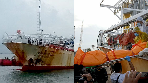 【インドネシア】中国漁船からインドネシア人船員の冷凍遺体!拷問を受けていた可能性