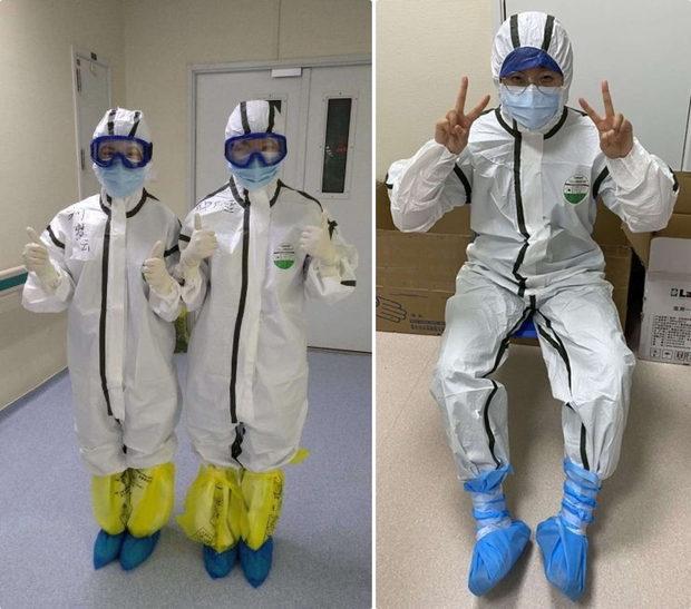【中国】新型ウイルス、医療現場、防護服が届かないのでゴミ袋をかぶって頑張る!-5