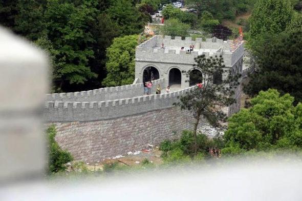 【中国】今度のパクリは「万里の長城」!7