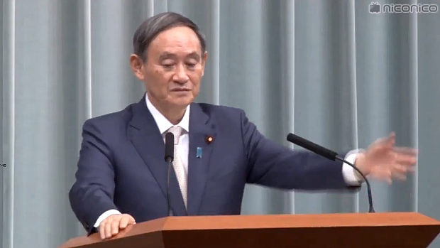 東京新聞・望月記者「桜を見る会ガー!公選法ガー!」に菅官房長官が冷たく一言…。