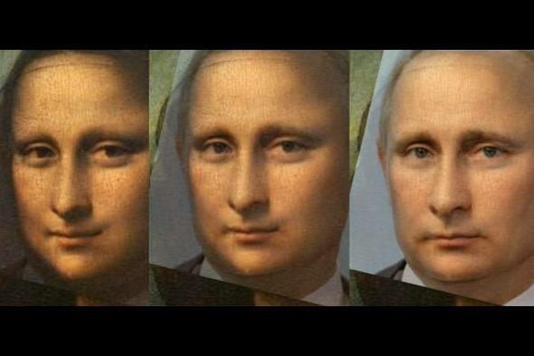 【画像】モナ・リザのモデルは「プーチン」