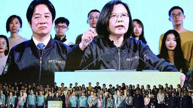 台湾、蔡英文総統、投票日前日の選挙演説が感動的と話題!