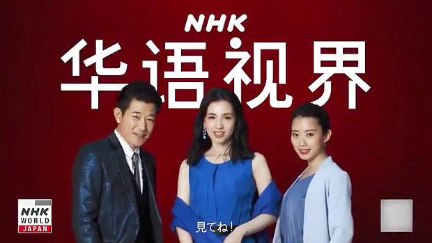 NHK「中国人向けのNHKサービスは登録不要!24時間完全無料!見てね!」