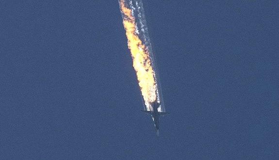 トルコ軍がロシア軍機を撃墜