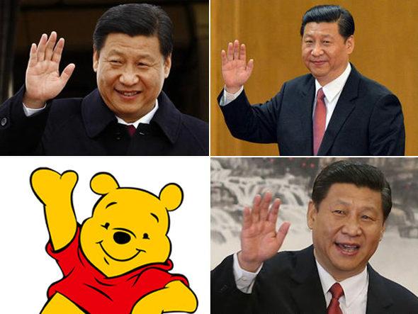 【中国】政府が「クマのプーさん」を検閲!ネットで習近平に似ている1