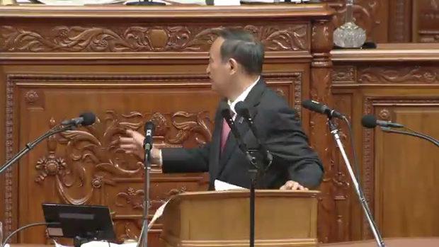 【国会】菅総理演説、