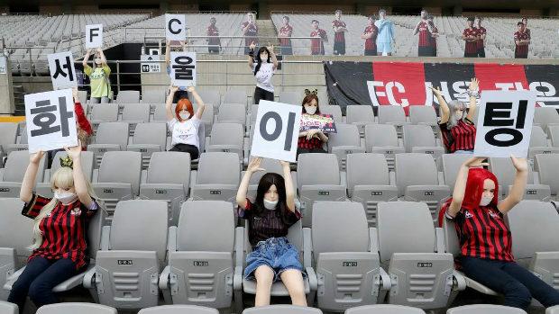 韓国、Kリーグの観客席に「ラブドール」騒動、リーグ史上最高額の罰金に!
