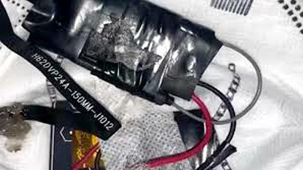 中国、マスクの中にカンニング用電子機器!中国ネット「スマートマスク!」