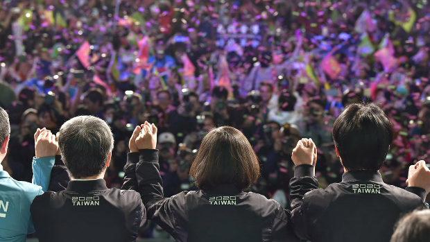 【台湾】蔡英文総統、総統選勝利後、速攻日本語でツイート「民主主義の勝利です。」
