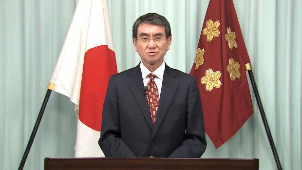 河野太郎防衛大臣、自衛隊全隊員に向けての「年頭の辞」