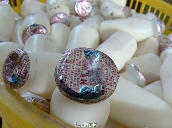 【中国】乳飲料メーカー、期限切れ商品を偽装し25万個を再販売4