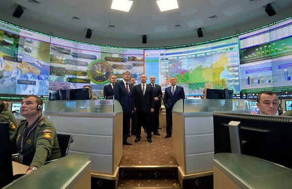 NDCC、ロシア国家防衛指揮センター1