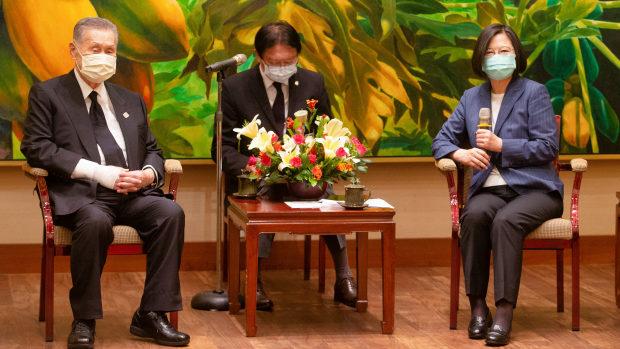 【台湾】森元首相ら台湾入り、 李登輝氏死去で海外最初の弔問団!蔡総統日本語ツイート
