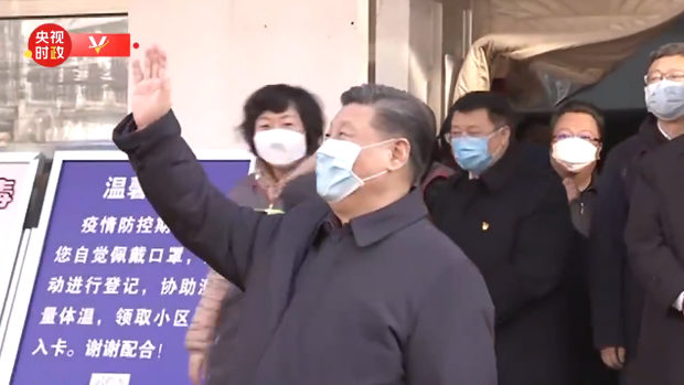 自民・佐藤議員「習近平が住民視察、北京でマスク姿で握手せず、アピールにもならない」
