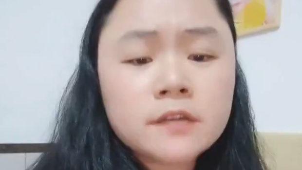 中国、習近平のポスターに墨汁をかけて精神病院送りになった女、Twitterに出現