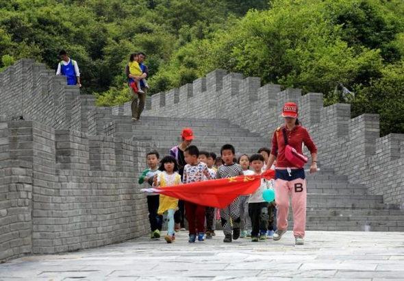 【中国】今度のパクリは「万里の長城」!4