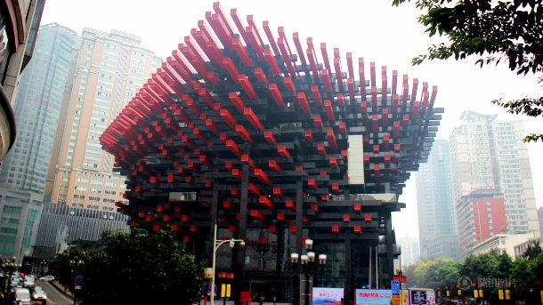【中国】また「変な建物があるぞ!」と話題に、今度は「お箸」の形をしたビル [海外]