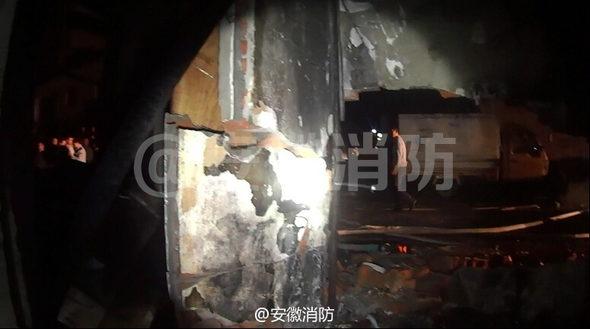 【中国】ガス爆発報道見て確認でライター点火、爆発!3