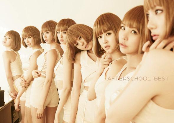 【画像】韓国After School CDジャケット、同じ格好で「クローン軍団」1