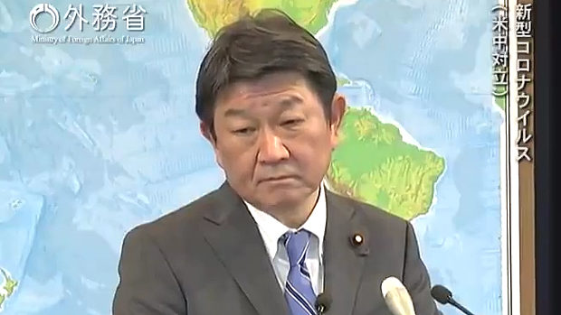 茂木外相「新型コロナウイルス感染症については中国で発生したことは明らか」