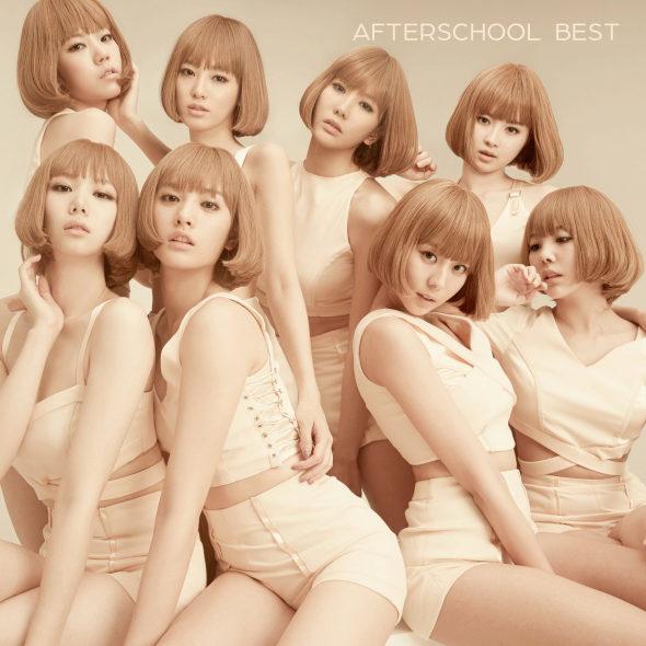 韓国After SchoolCDジャケット、同じ格好で「クローン軍団」2