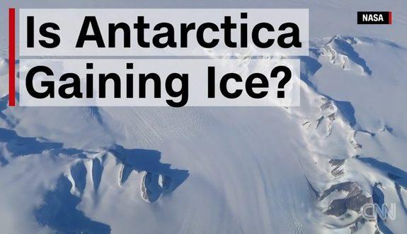 NASA「南極の氷は増加している!」1