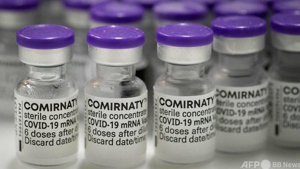 感染者激減のファイザー製ワクチン