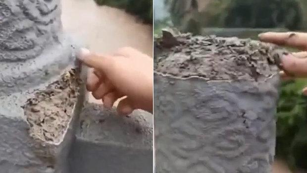 中国、交通局「見てください、この橋の欄干ボロボロです。手抜きですわ」