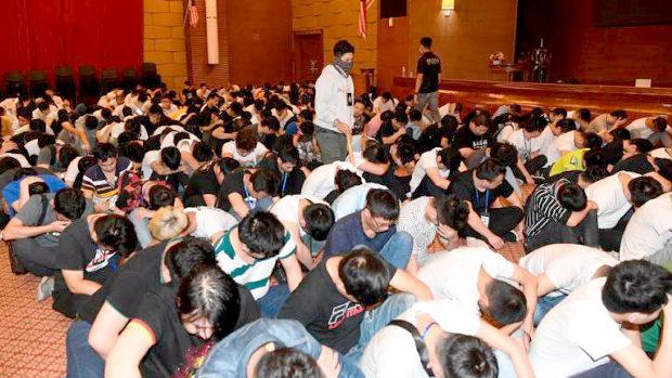 マレーシア、中国人オンライン詐欺組織680人を一斉逮捕!100人近くが逃走-3