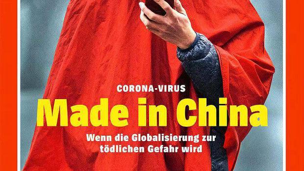 【中国】今度はドイツ紙、表紙に「コロナウイルス Made in China」中国大使館が激怒