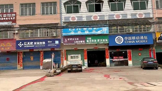 中国、封鎖された武漢に取材に入った、まるでゴーストタウンの様相だ