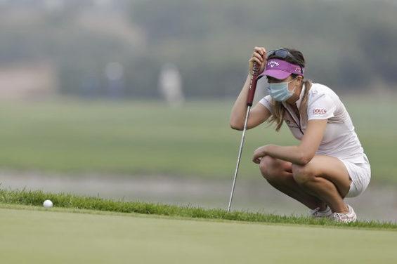 【中国】 北京、重度の大気汚染!女子ゴルフツアー参加選手はマスク着用者続出2