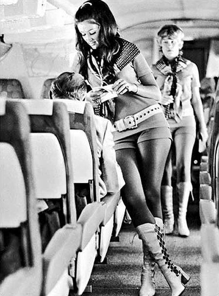 1970s Flight Attendant Southwest Airlines 1