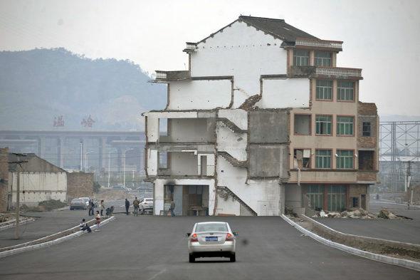 中国、「最もハチャメチャな立ち退き拒否」 4