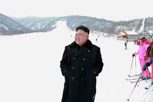 【北朝鮮】金正恩、スキーリゾート視察2