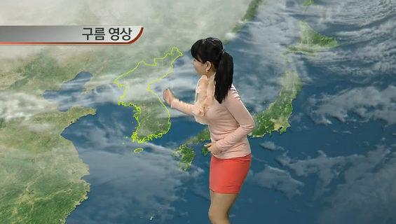 韓国のお天気お姉さん趙京雅 2