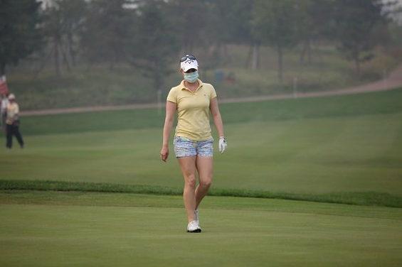 【中国】 北京、重度の大気汚染!女子ゴルフツアー参加選手はマスク着用者続出3