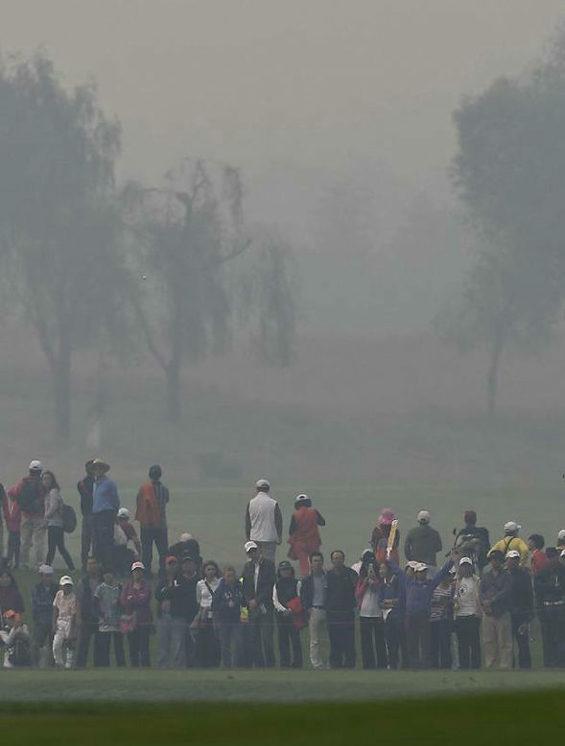 【中国】 北京、重度の大気汚染!女子ゴルフツアー参加選手はマスク着用者続出5