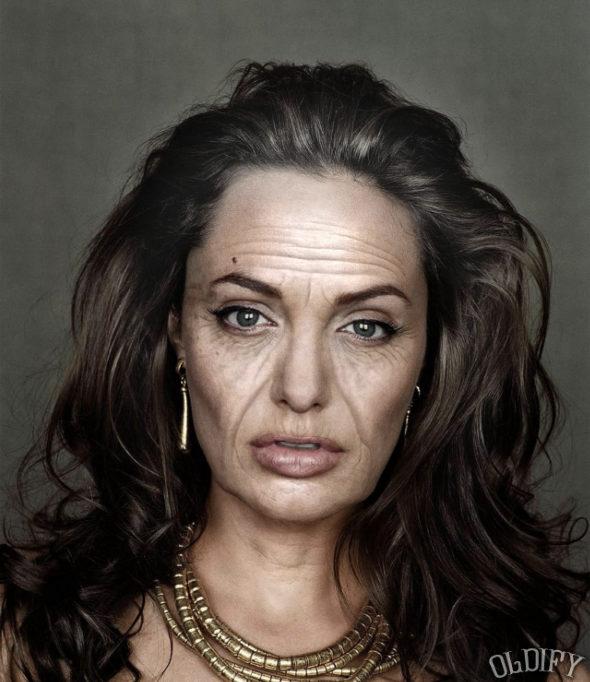 アンジェリーナ・ジョリー 80歳
