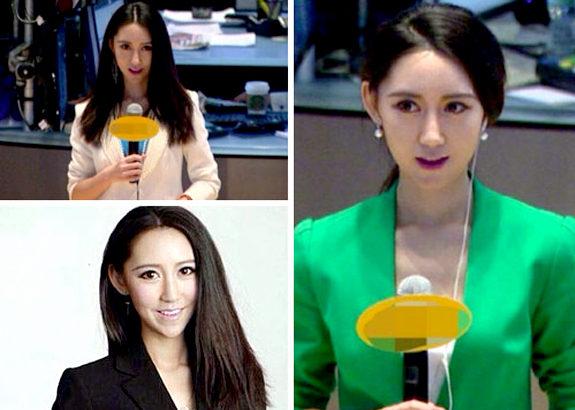中国、株式ニュースの女性記者が美人すぎると話題