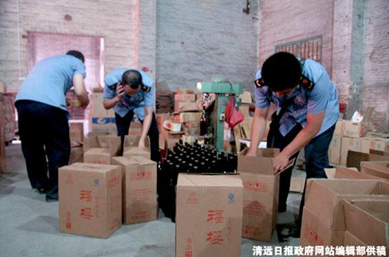 【中国】 上海、偽装「日本酒」出回る!2