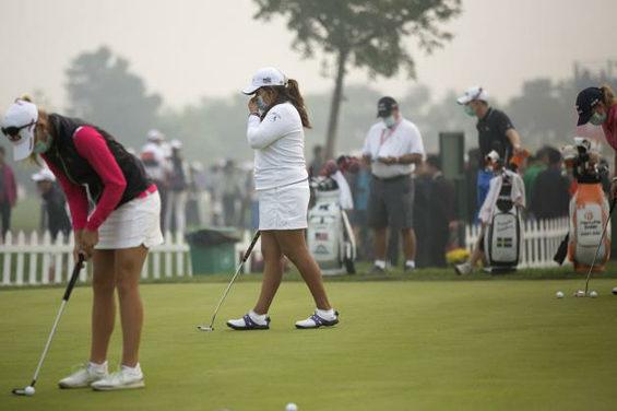 【中国】 北京、重度の大気汚染!女子ゴルフツアー参加選手はマスク着用者続出4