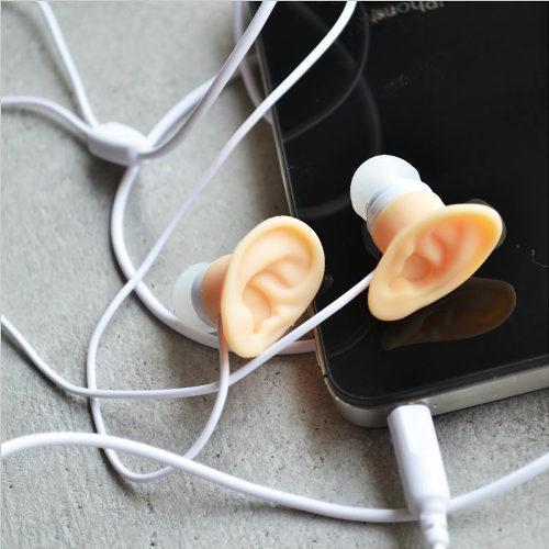 耳の形をしたイヤホン!「イヤーイヤホン」2