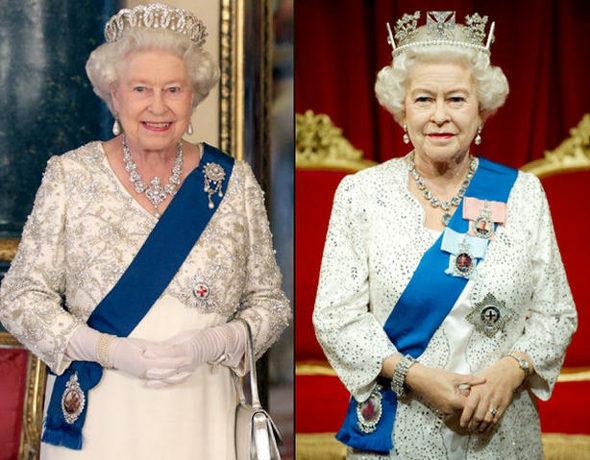 マダム・タッソー、エリザベス女王の新作ろう人形を公開 4