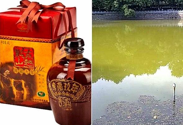 【中国】「紹興酒」湖の水を醸造に使うはずが、「10年前から水道水」1