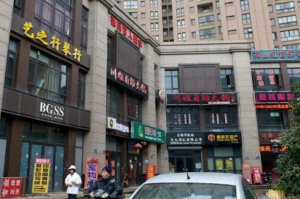 【中国】「パクリ看板」商店街4