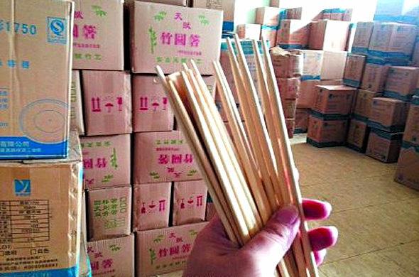 【中国】割り箸も有毒7