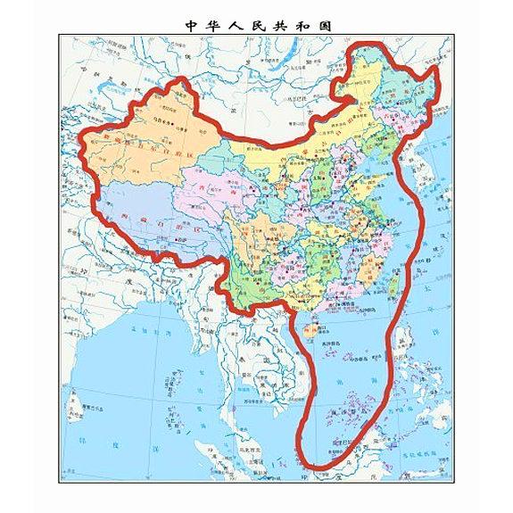 中国、南シナ海取り込む新地図 ... : 中国 日本 地図 : 日本