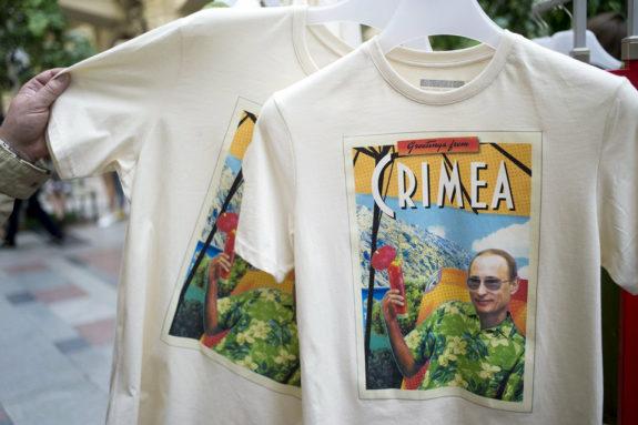 おもロシア、プーチンTシャツ大人気!1